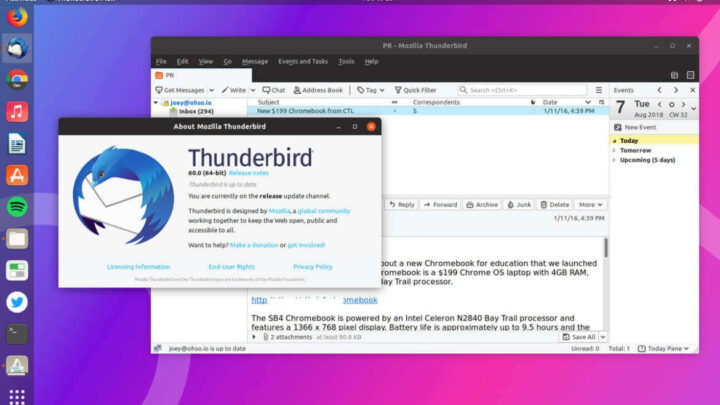 How to Setup AOL Email account on Mozilla Thunderbird