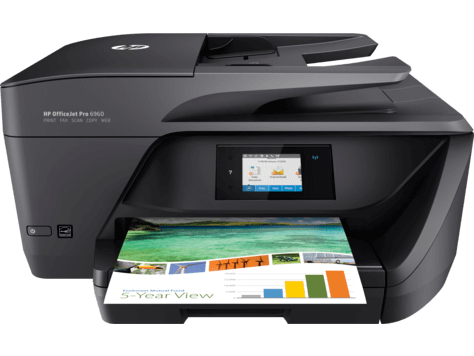 How to setup hp Officejet pro 6960