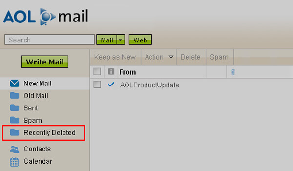 How To Recover a Deleted Aol Email